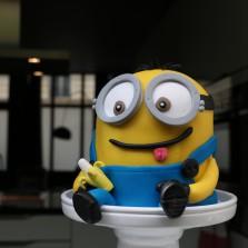 gâteau Minion 3D