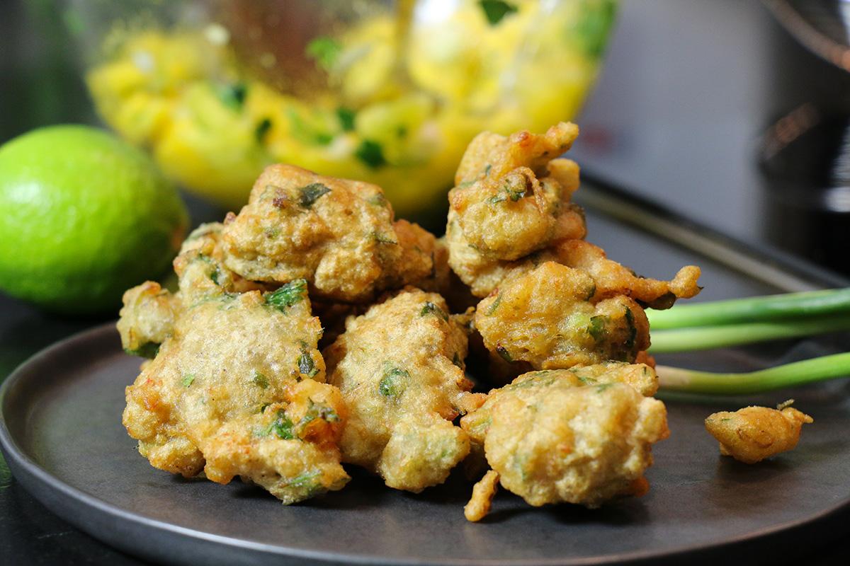 Accras de crevettes cr oles faciles for Entrees faciles