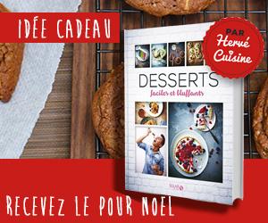 Herve Cuisine livre desserts faciles et bluffants