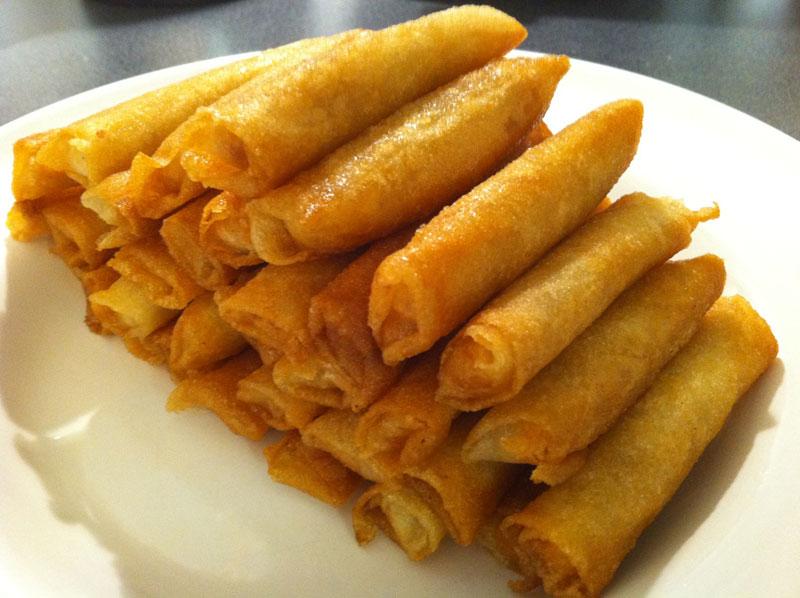 Cigares aux amandes miel et fleur d 39 oranger - Cuisine orientale facile ...