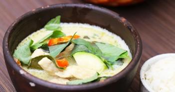curry vert Thaï poulet recette