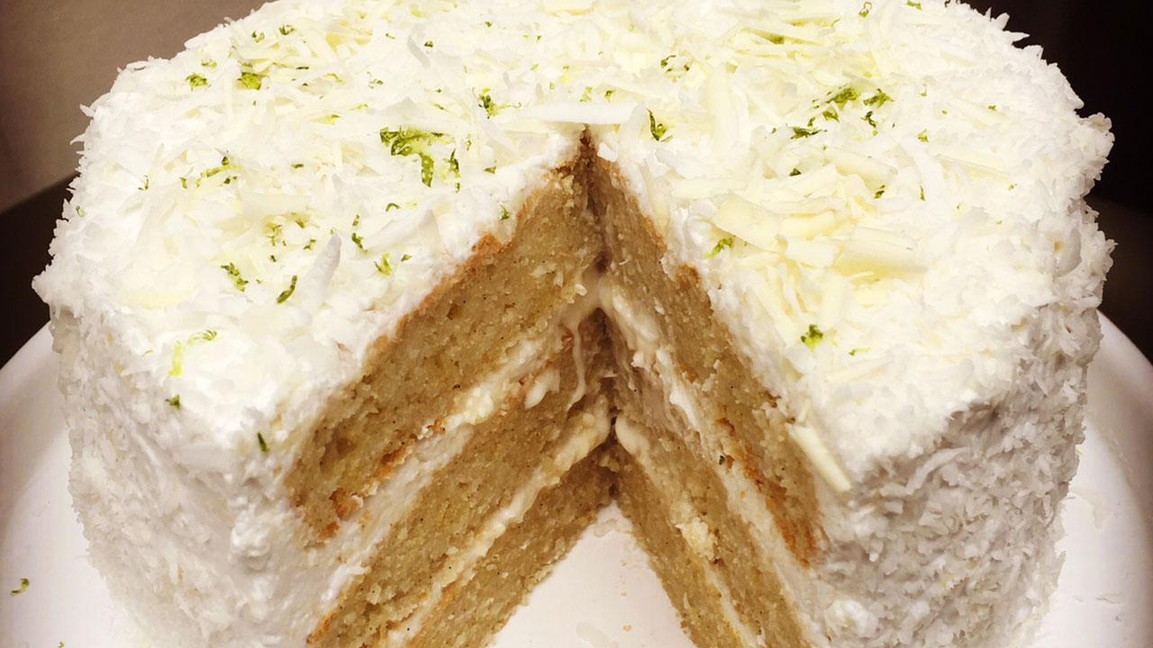 Cake  Ef Bf Bd L Huile De Coco Et Citron
