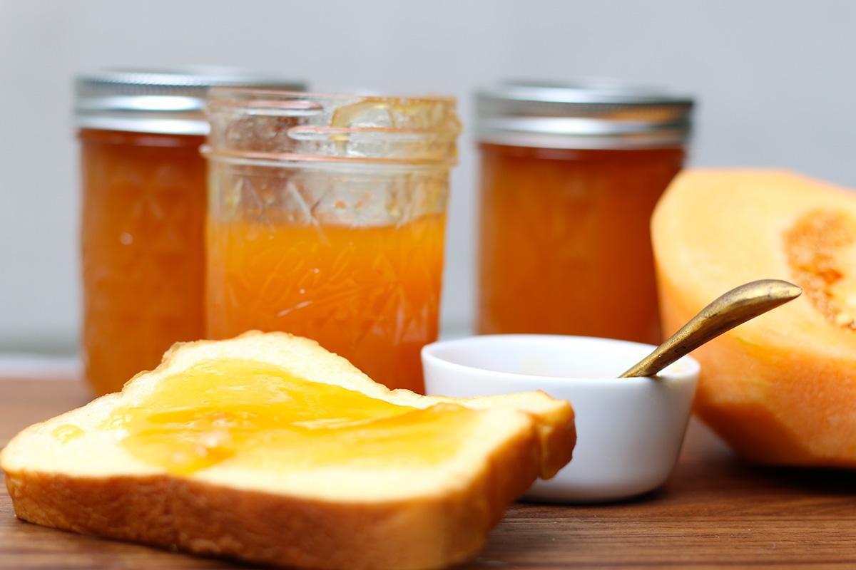 confiture melon orange