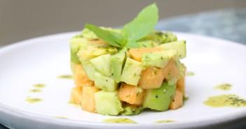 recette-tartare-melon-avocat
