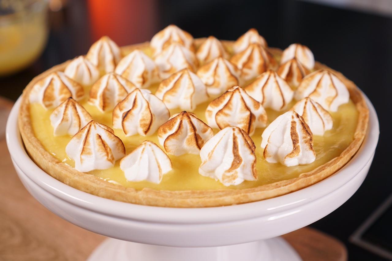 Recette facile de la tarte au citron meringu e - Herve cuisine tarte citron ...