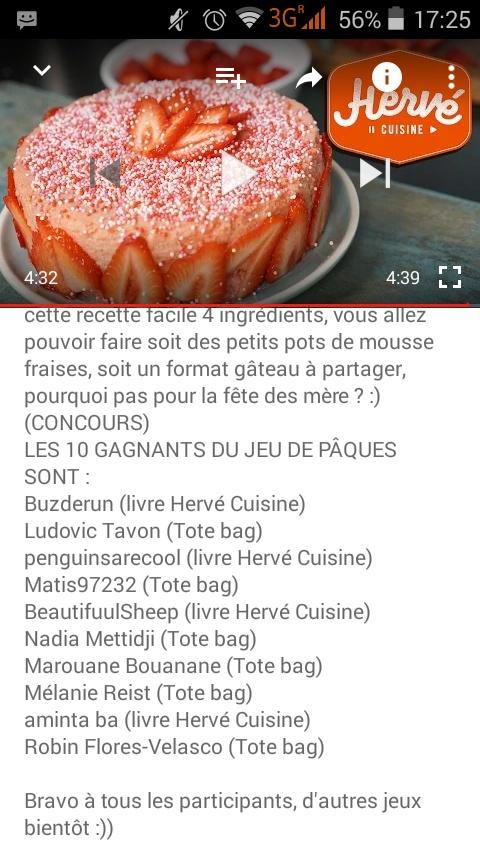 Gateau paques herve cuisine